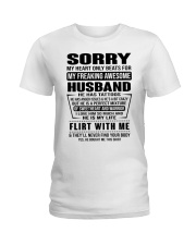 MY FREAKING AWESOME HUSBAND Ladies T-Shirt tile