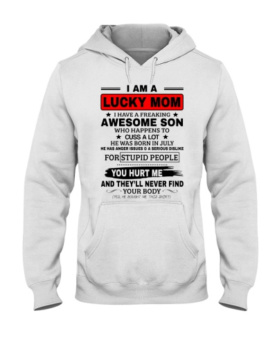 LIMITED EDITION - I AM A LUCKY MOM