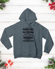 CRAZY BOYFRIEND - DTS Hooded Sweatshirt lifestyle-holiday-hoodie-front-3
