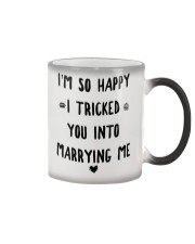 Halloween Day Gift Idea version Color Changing Mug color-changing-right