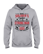 SOLDIER'S WIFE Hooded Sweatshirt front