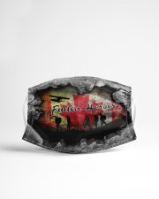 Remembrance Day - Freedom NIA94 Cloth face mask aos-face-mask-lifestyle-22