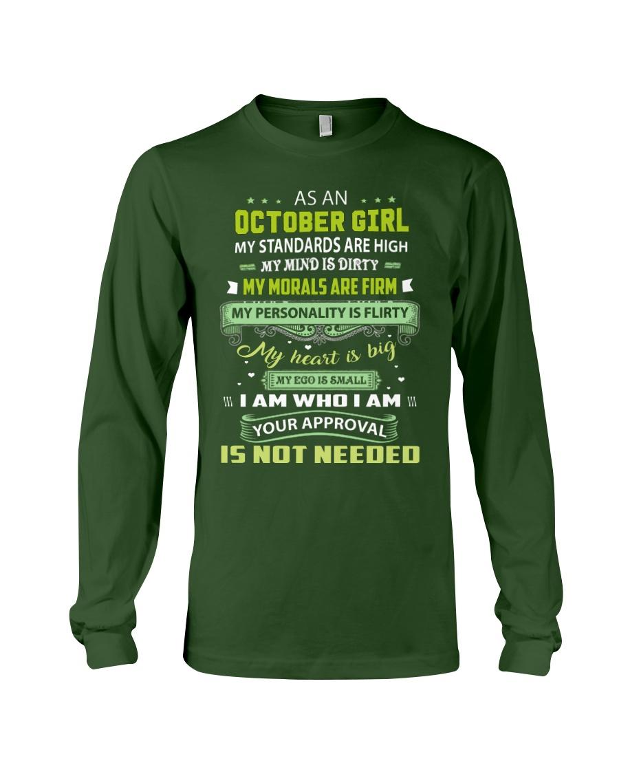 OCTOBER GIRL Long Sleeve Tee