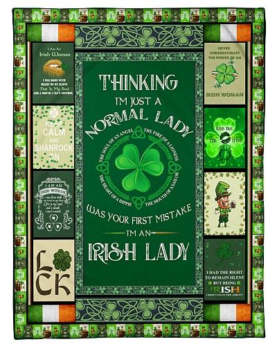 I'M AN IRISH LADY - BLANKET