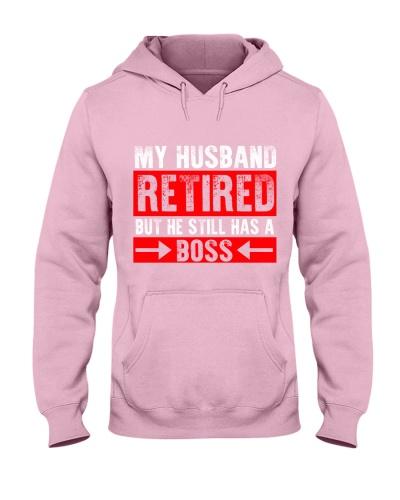 MY HUSBAND RETIRED