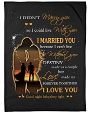 """Blanket - You are my Destiny - PCC Large Fleece Blanket - 60"""" x 80"""" front"""