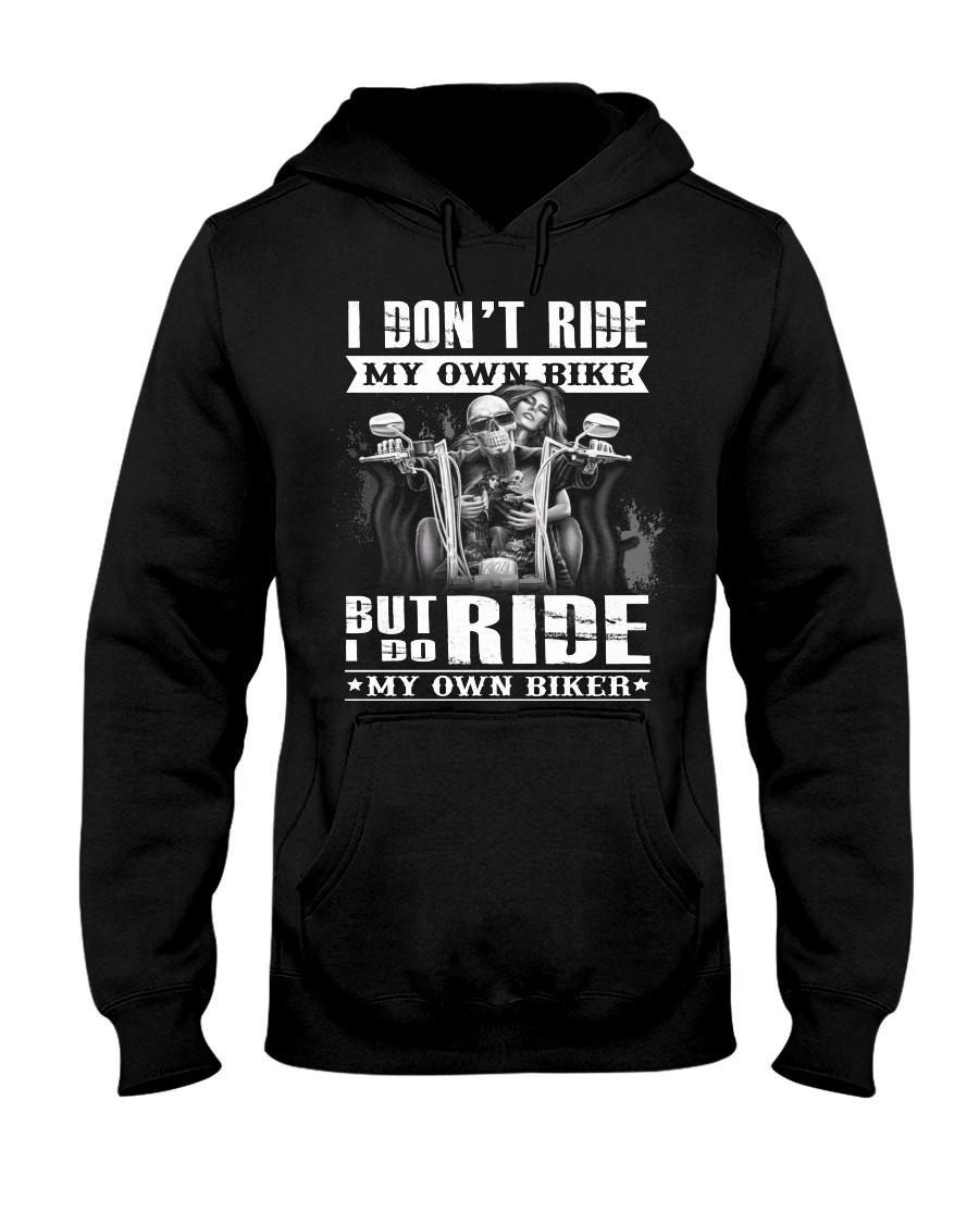 limited version - My own biker Hooded Sweatshirt