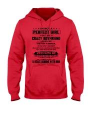 CRAZY BOYFRIEND-ENOUGH-12 Hooded Sweatshirt front