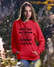 CRAZY BOYFRIEND-ENOUGH-12 Hooded Sweatshirt lifestyle-holiday-hoodie-front-5