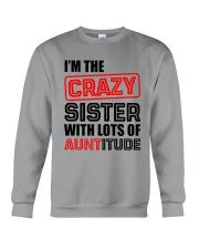 I'M THE CRAZY SISTER Crewneck Sweatshirt thumbnail