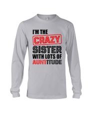 I'M THE CRAZY SISTER Long Sleeve Tee thumbnail