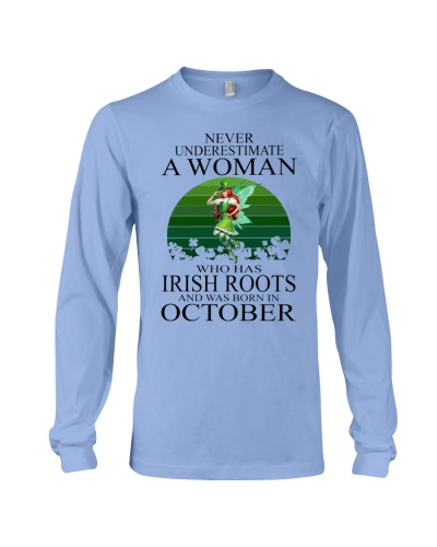 IRISH WOMAN WAS BORN IN OCTOBER