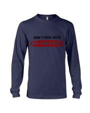 DON'T FUCK WITH MY FREEDOM - FULY Long Sleeve Tee thumbnail