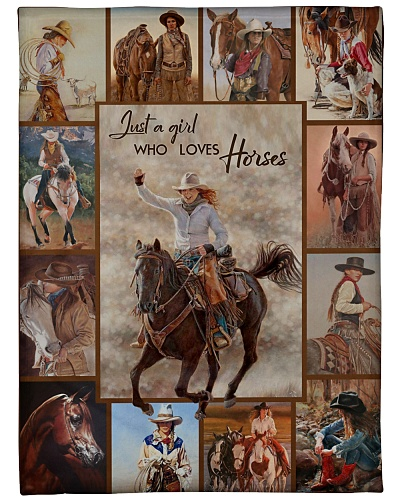 JUST A GIRL WHO LOVES HORSES-HTV
