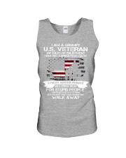 I AM A GRUMPY US VETERAN Unisex Tank thumbnail