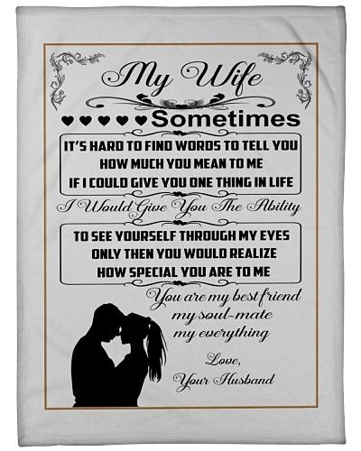 BLANKET- MY WIFE