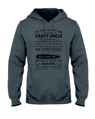 I HAVE A CRAZY UNCLE-MAY