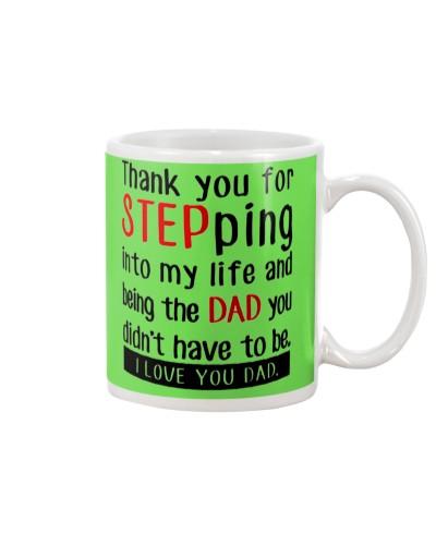 STEP DAD MUG 1 - FATHER DAY'S