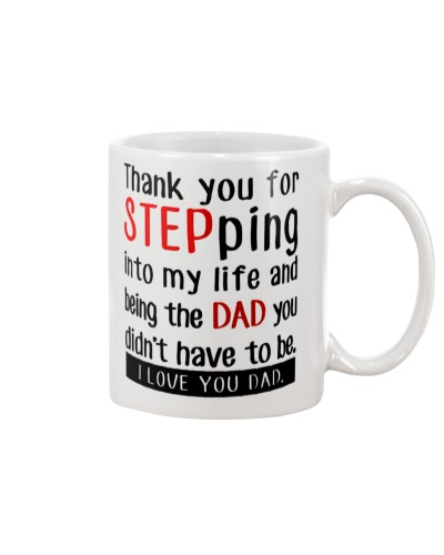 STEP DAD MUG 1 - FATHER DAY'S