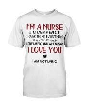 I'M A NURSE Classic T-Shirt thumbnail