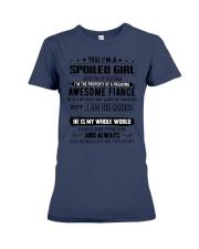 I AM SPOILED GIRL Premium Fit Ladies Tee thumbnail