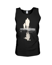 I  BECOME PAPA AND GRANPA - VETERAN Unisex Tank thumbnail