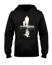I  BECOME PAPA AND GRANPA - VETERAN Hooded Sweatshirt thumbnail