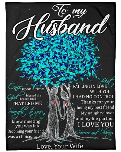 Blanket - To my Husband - DTA