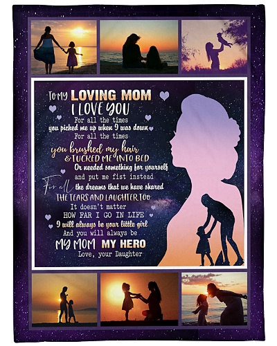 BLANKET - MOTHER DAY GIFT