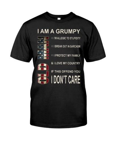 Limited Edittion - Grumpy Old Man - Front