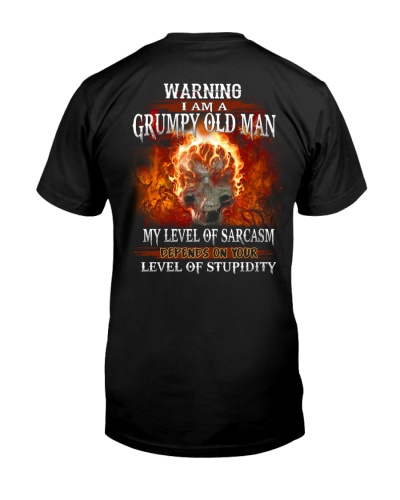 LIMITED EDITION - GRUMPY OLD MAN - HTL