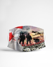 Remembrance Day - 1 Cloth face mask aos-face-mask-lifestyle-22