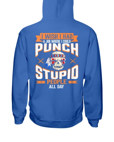 PUNCH STUPID PEOPLE - FULY