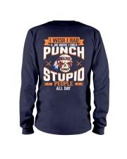 PUNCH STUPID PEOPLE - FULY Long Sleeve Tee thumbnail