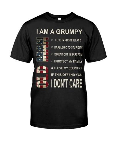 Limited Edition-Grumpy Old Man-Rhode Island