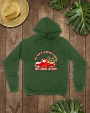 TOM- LOVE BRINGS US HOME RED TRUCK  Hooded Sweatshirt lifestyle-unisex-hoodie-front-7