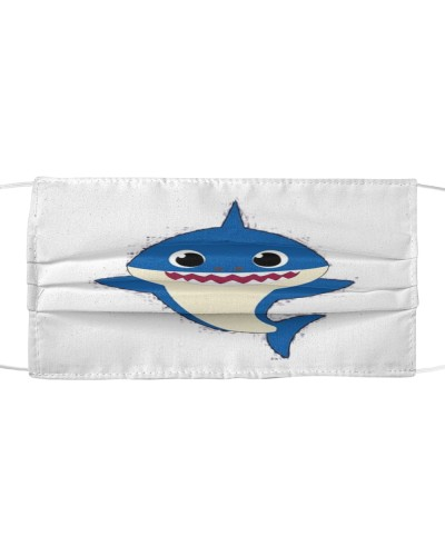 Face Veil Shark For Kids