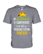 TACOS V-Neck T-Shirt thumbnail