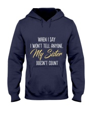 LIMITED SISTER Hooded Sweatshirt front
