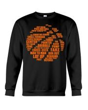 Basketball Life Version Crewneck Sweatshirt thumbnail