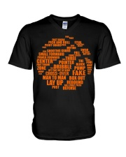 Basketball Life Version V-Neck T-Shirt thumbnail