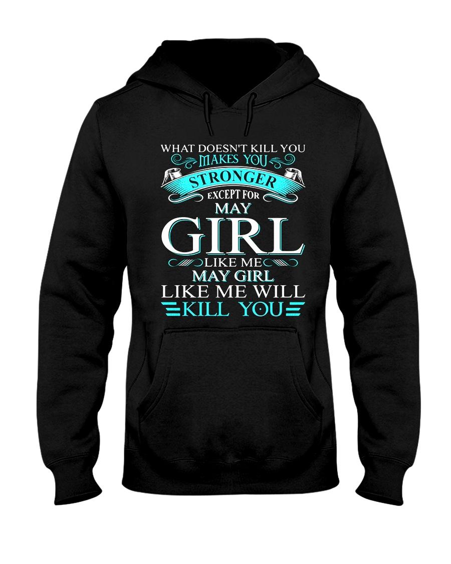 MAY GIRL Hooded Sweatshirt