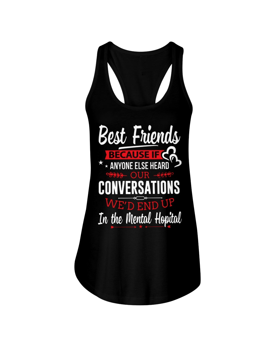 BEST FRIENDS  - LIMITED Ladies Flowy Tank