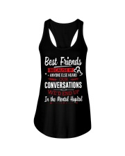 BEST FRIENDS  - LIMITED Ladies Flowy Tank front