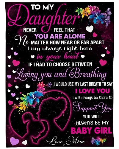 Blanket-To my Daughter - PCC