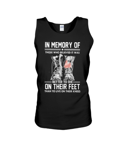 LIMITED EDITION - IN MEMORY OF THOSE WHO BELIEVED
