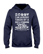 SEXY AND STUBBORN WIFE Hooded Sweatshirt front