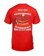 MEINE FRAU - DTS Classic T-Shirt back