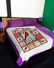 "Bkabnket test Large Fleece Blanket - 60"" x 80"" aos-coral-fleece-blanket-60x80-lifestyle-front-01"