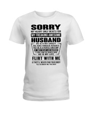 MY FREAKING AWESOME HUSBAND- version Ladies T-Shirt tile